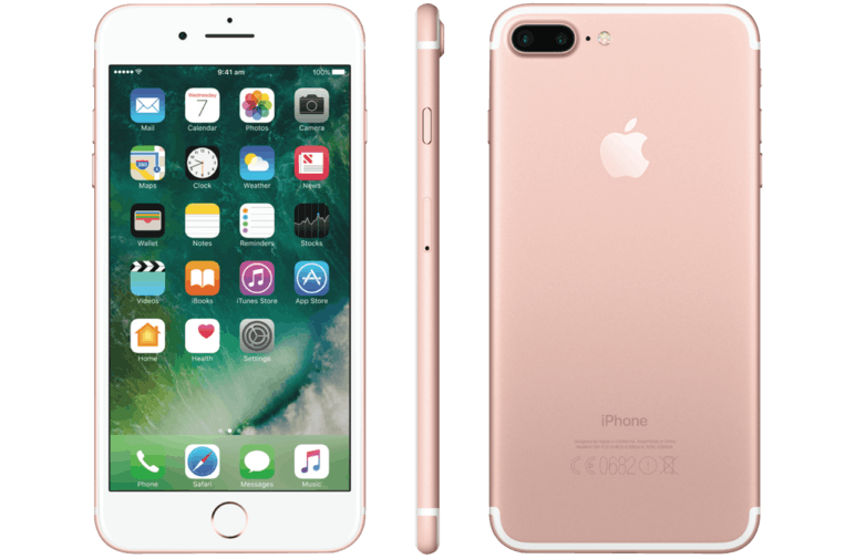 Iphone 7 plus all colors png