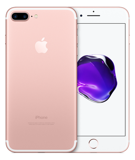 Iphone 7 plus rose gold png. Gb sprint apple