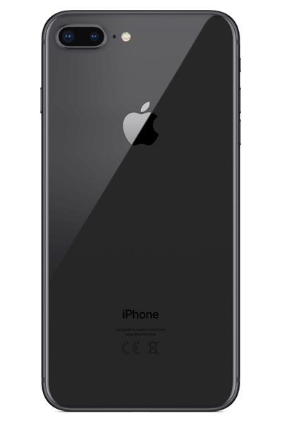 Iphone 8 plus png. Gb space grey contract