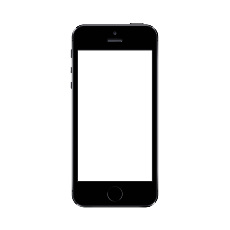 Iphone blank screen png. Mockuphone s psd