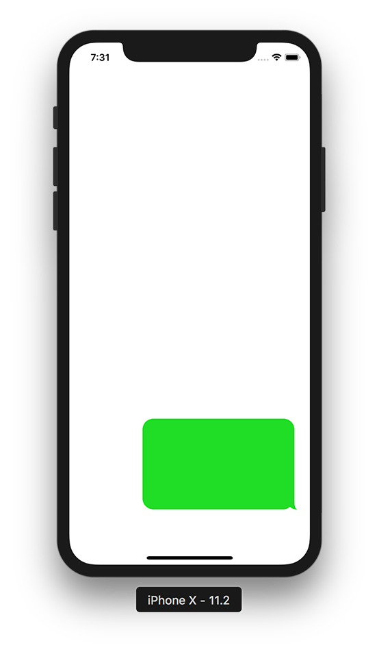 Iphone bubble text png. Creating a chat which