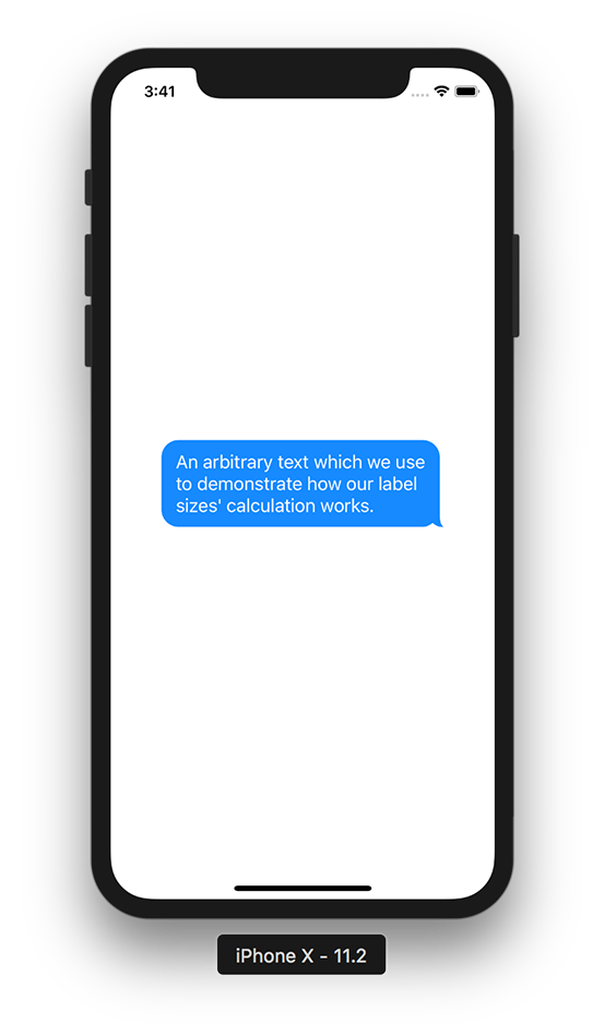 Iphone chat bubble png. Creating a which looks