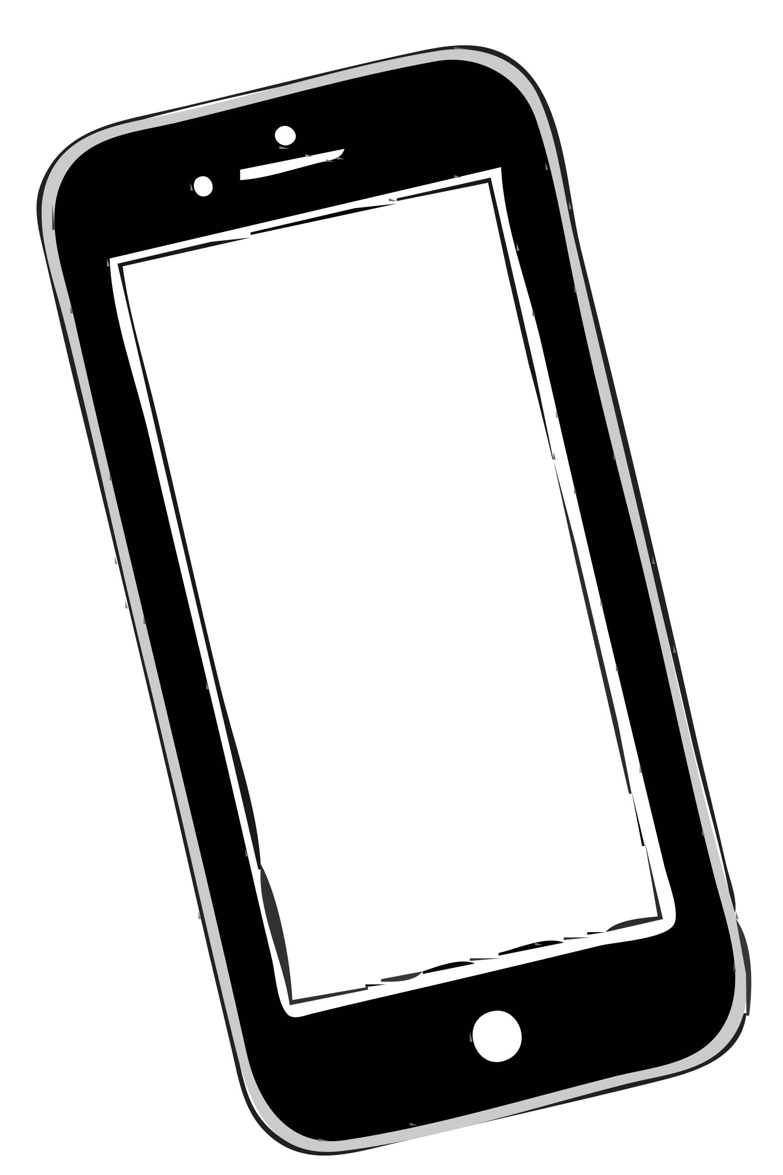 Mobile clipart. Sending i phone to
