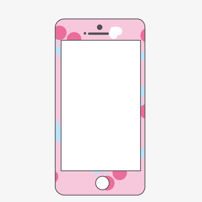 Iphone clipart pink iphone. Color film cartoon png