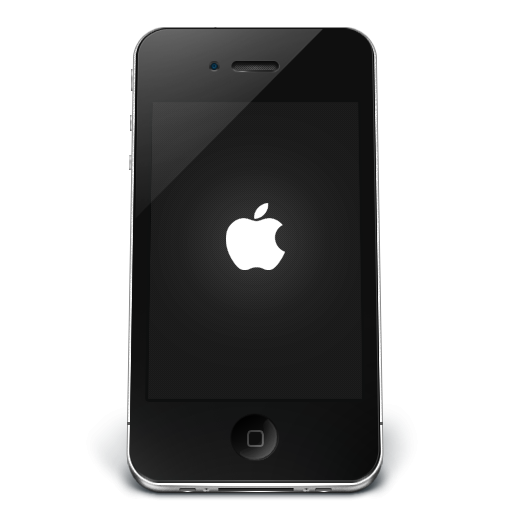 Iphone clipart smartphone. Black apple icon png
