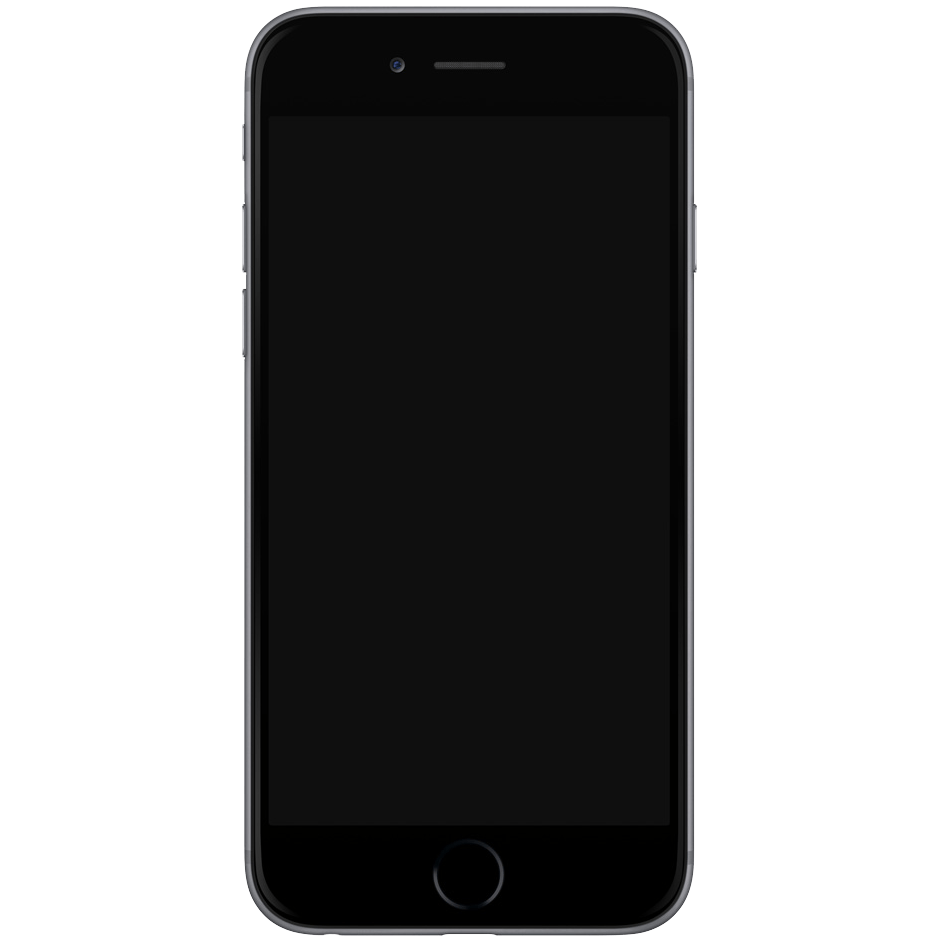 iphone 7 blank screen png
