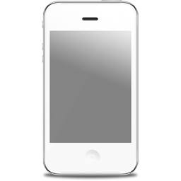 Iphone clipart transparent. White