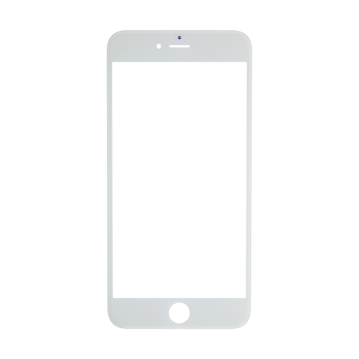Iphone frame png. S plus white glass