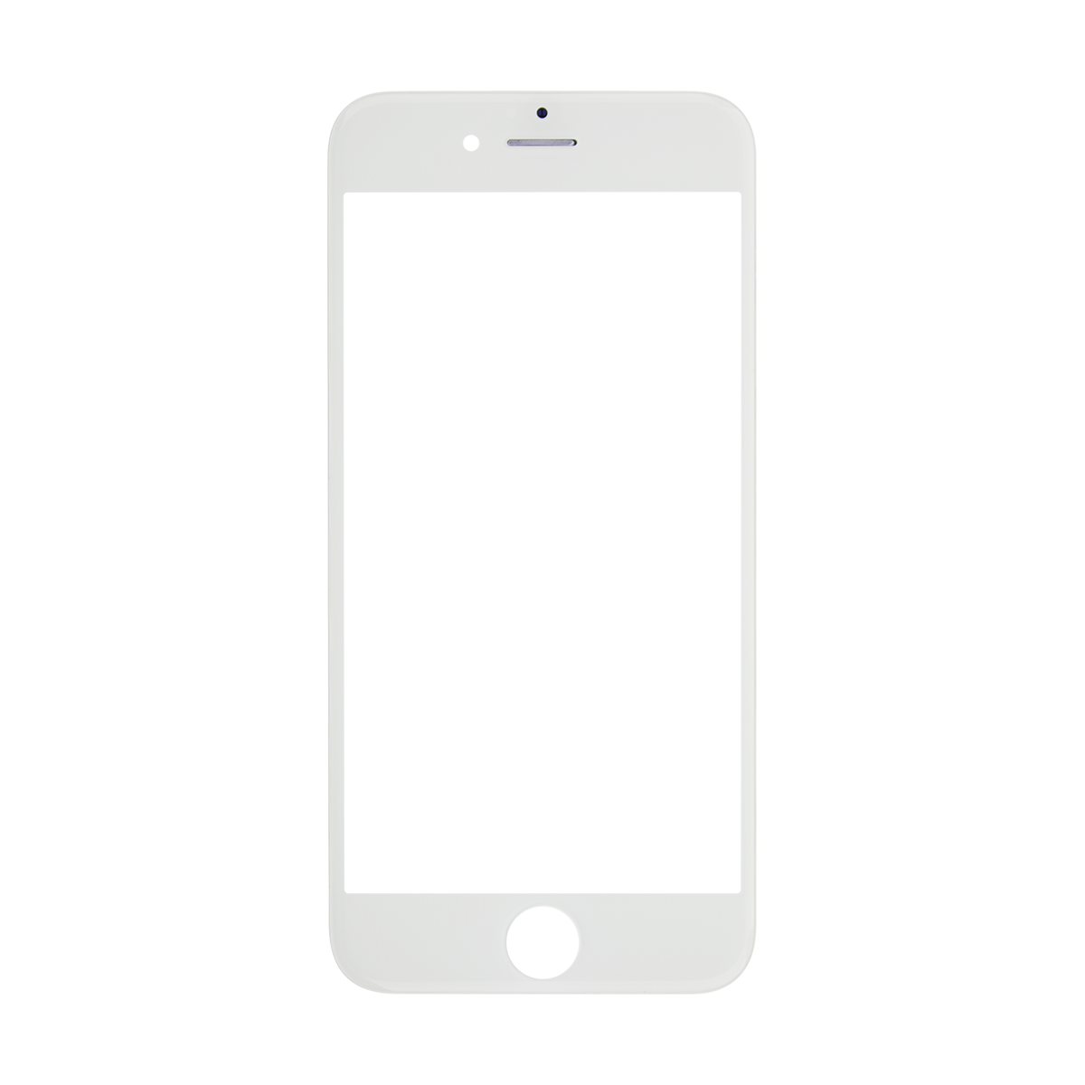 Iphone frame png. S white glass lens
