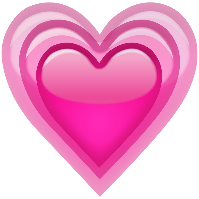 Iphone heart emoji png. Free emojis to use