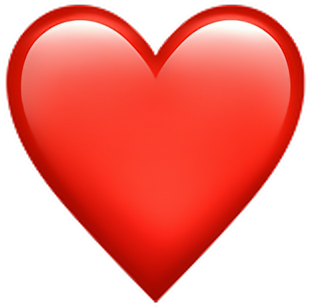 Iphone heart emoji png. Download red emoticon iphonee
