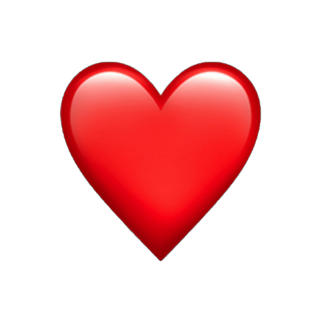 Iphone heart emoji png. Ios hearts spin edit
