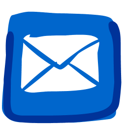 Iphone mail icon png. Hand drawn iconset fast