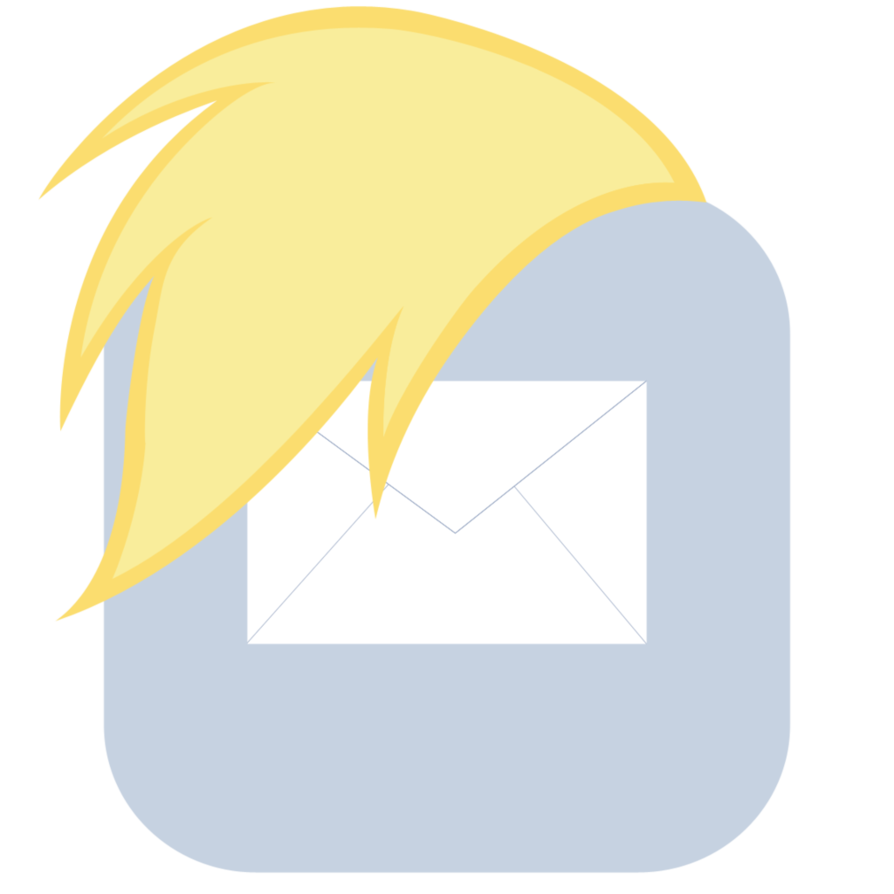 Iphone mail icon png. Mlp fim derpy mane