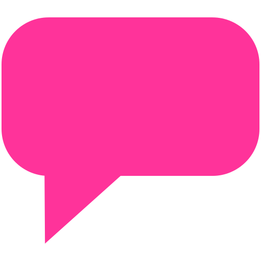 Iphone message bubble png. Comment icon myiconfinder
