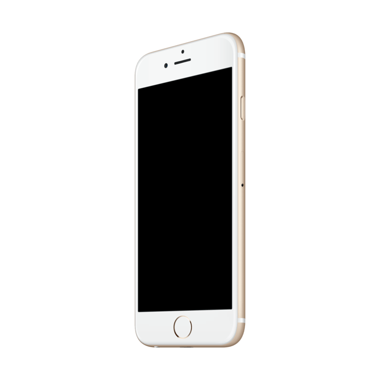 Iphone mockup png. Gold mock up template