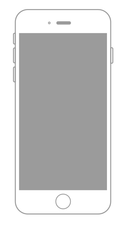 Iphone outline png. Greyscale pagesuite leave a
