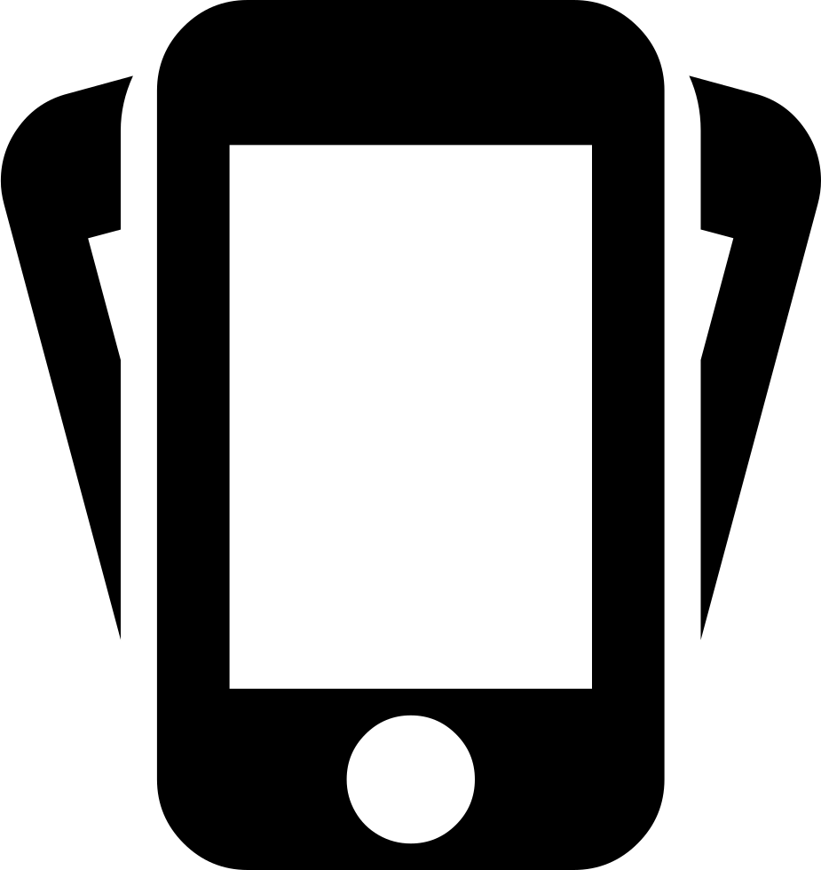 Iphone svg illustration. Shake png icon free