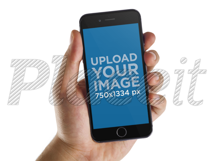 Iphone template png. Placeit mockup man holding