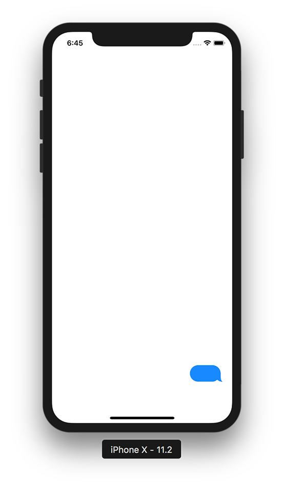 Iphone text bubble png. Creating a chat which