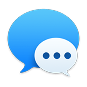 Iphone text bubble png. Use messages with your