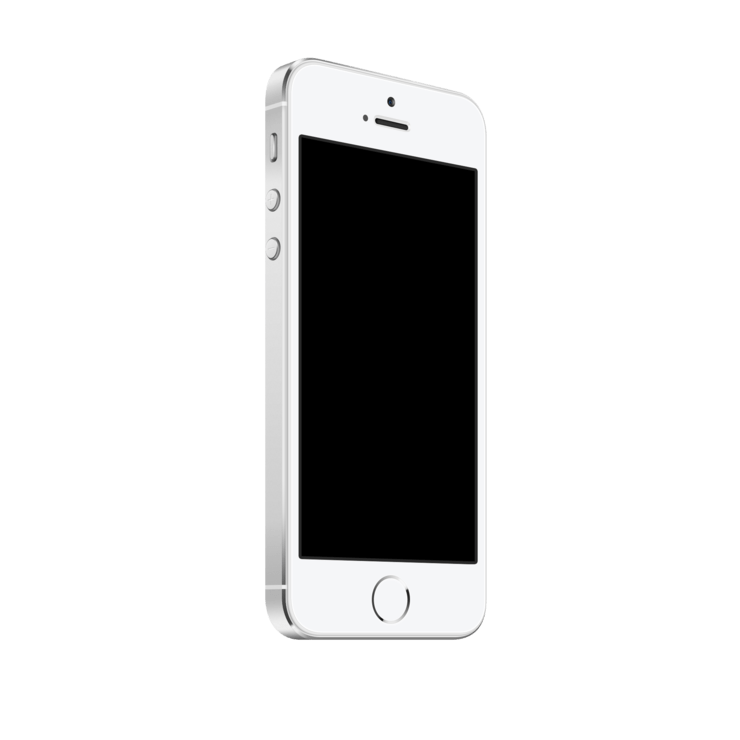 Product vector iphone. Mockuphone screenshots on s