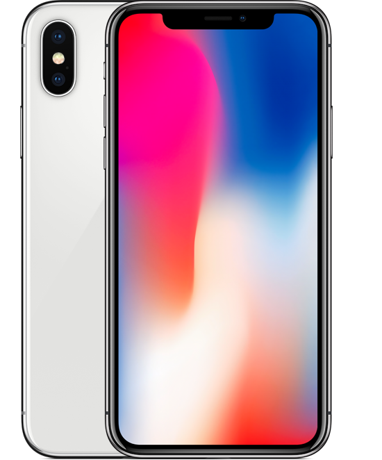 Iphone x png image. Gb silver mediacenter