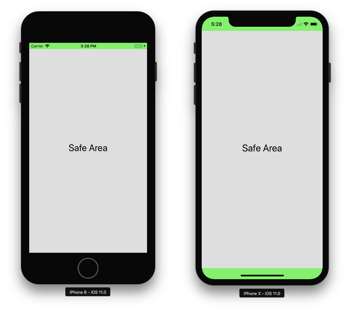 Ios safe area rosberryapps. Iphone x status bar png clip art free