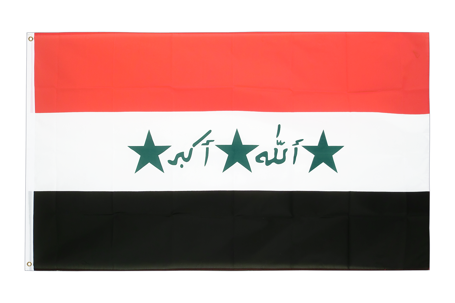 Iraq flag png. Old x ft cm