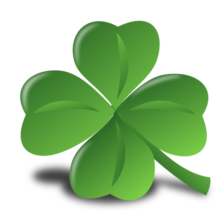 St patrick s day. Irish clipart four leaf clover png library