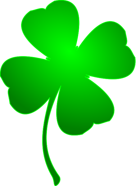 Vector clover notre dame. Free irish cliparts download