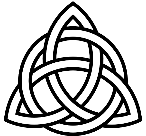 pentacle vector celtic knot