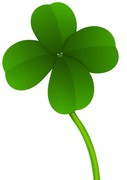Shamrock red saint patrick. Irish clipart four leaf clover picture library library
