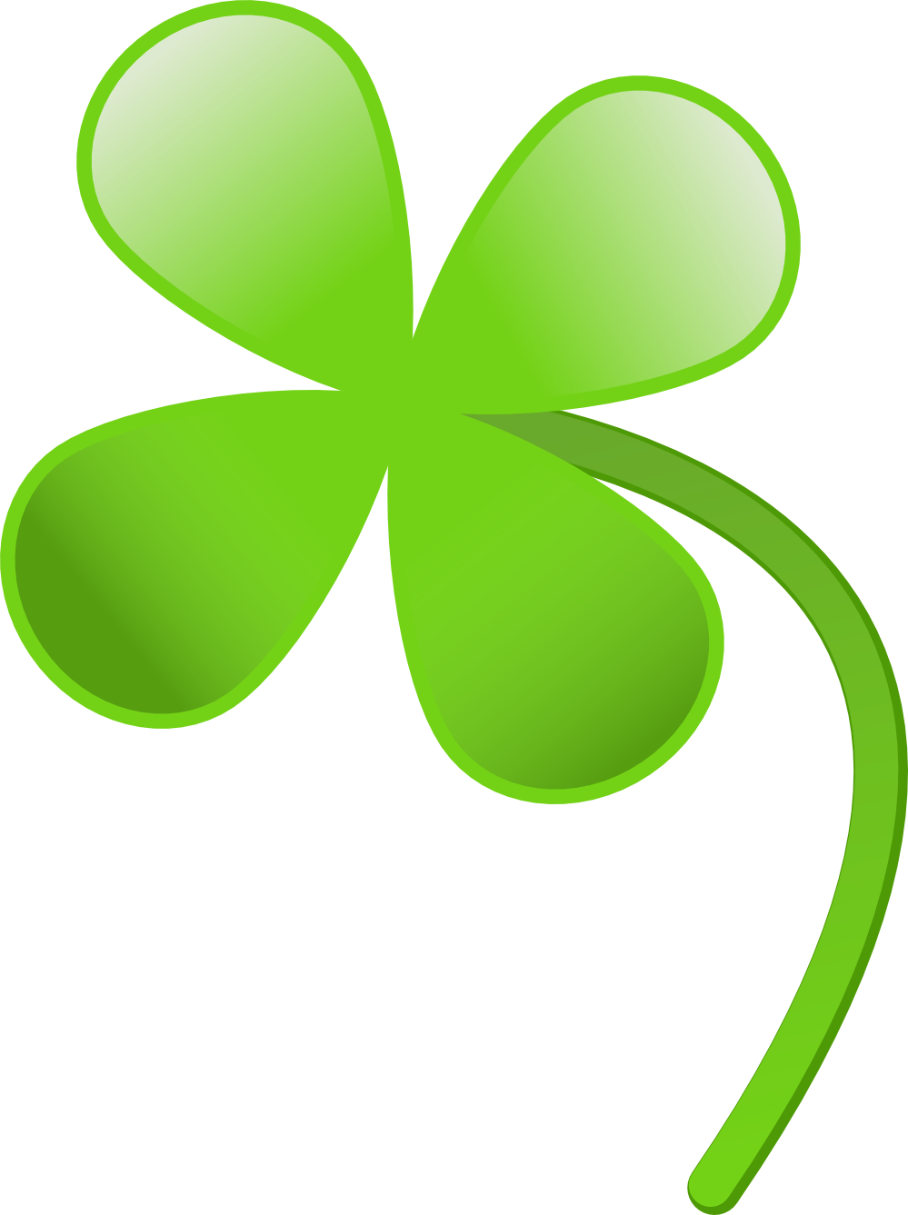 Pin by next on. Irish clipart four leaf clover svg free stock