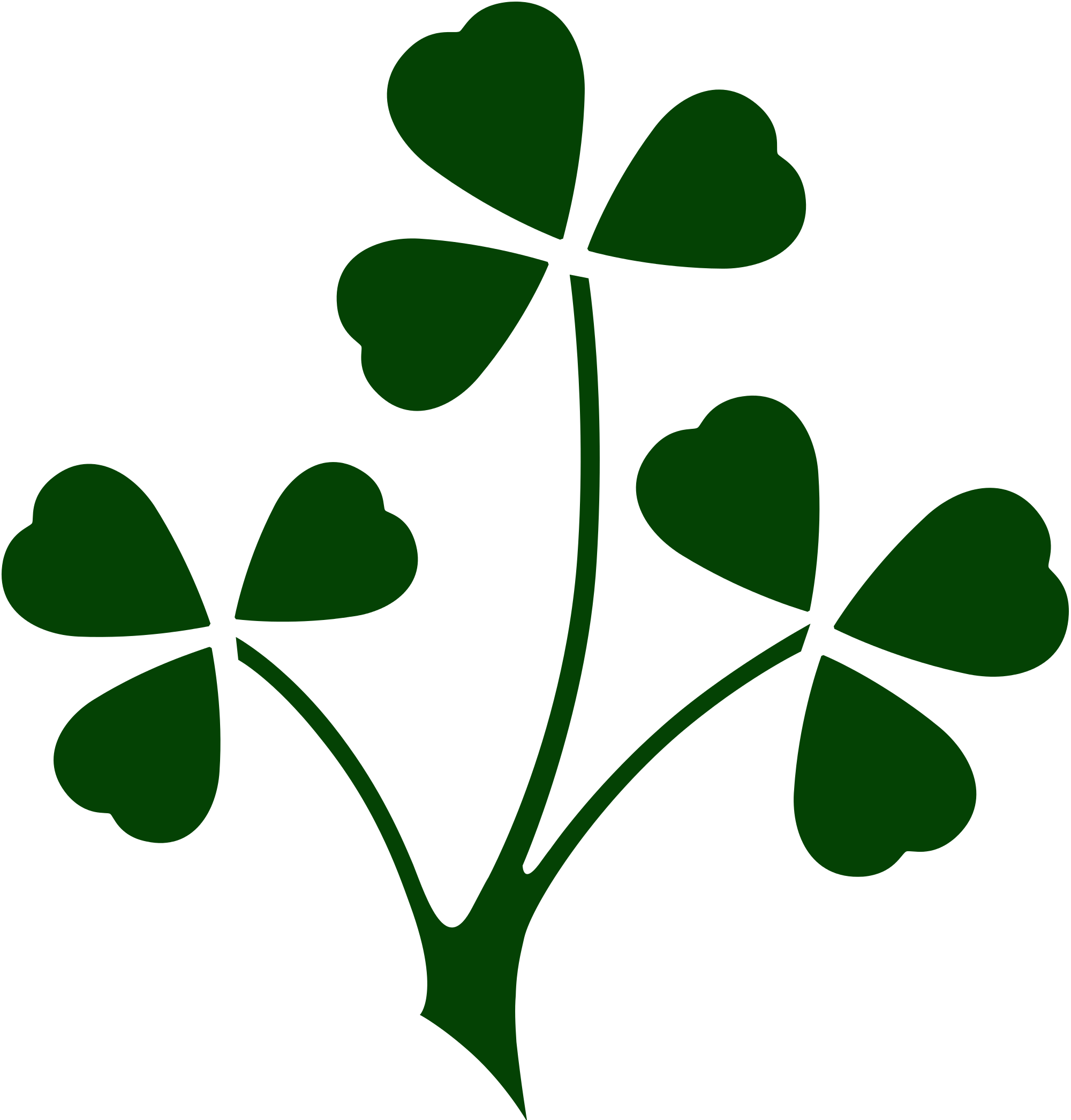 File shamrock ireland svg. Irish clover png picture library library