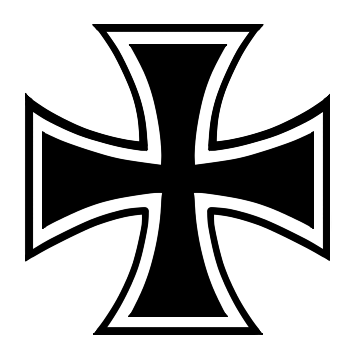 Iron cross png. Vector cliparts co pinterest