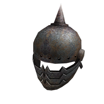 Image helm roblox wikia. Iron helmet png image free library