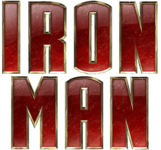 Iron man logo png. Transparent stickpng