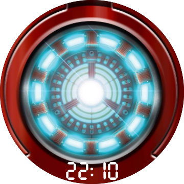 Iron man chest piece png. Arc reactor for huawei
