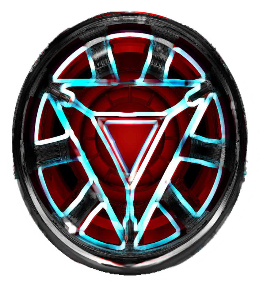 Iron man chest png. Arc reactor caedes desing