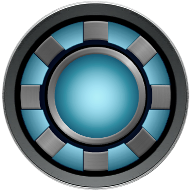 Iron man chest png. Arc reactor by kalel