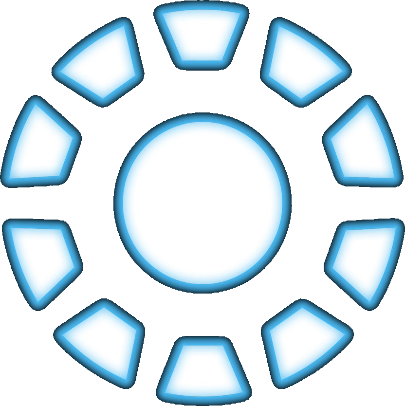 Iron man chest png. Metee arc reactor