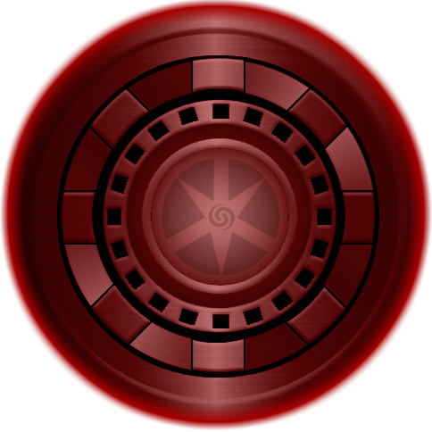 Iron man chest png. Maroon lantern arc reactor