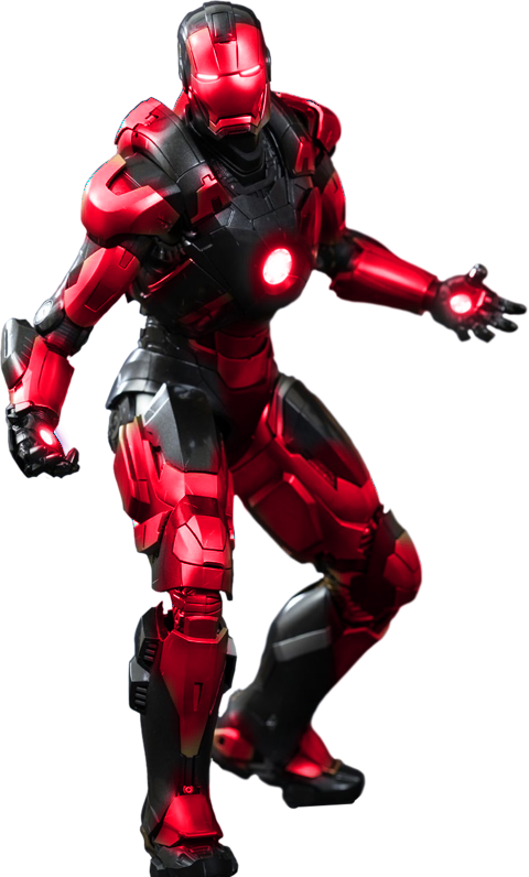 Iron man suit png. Red render by mrvideo