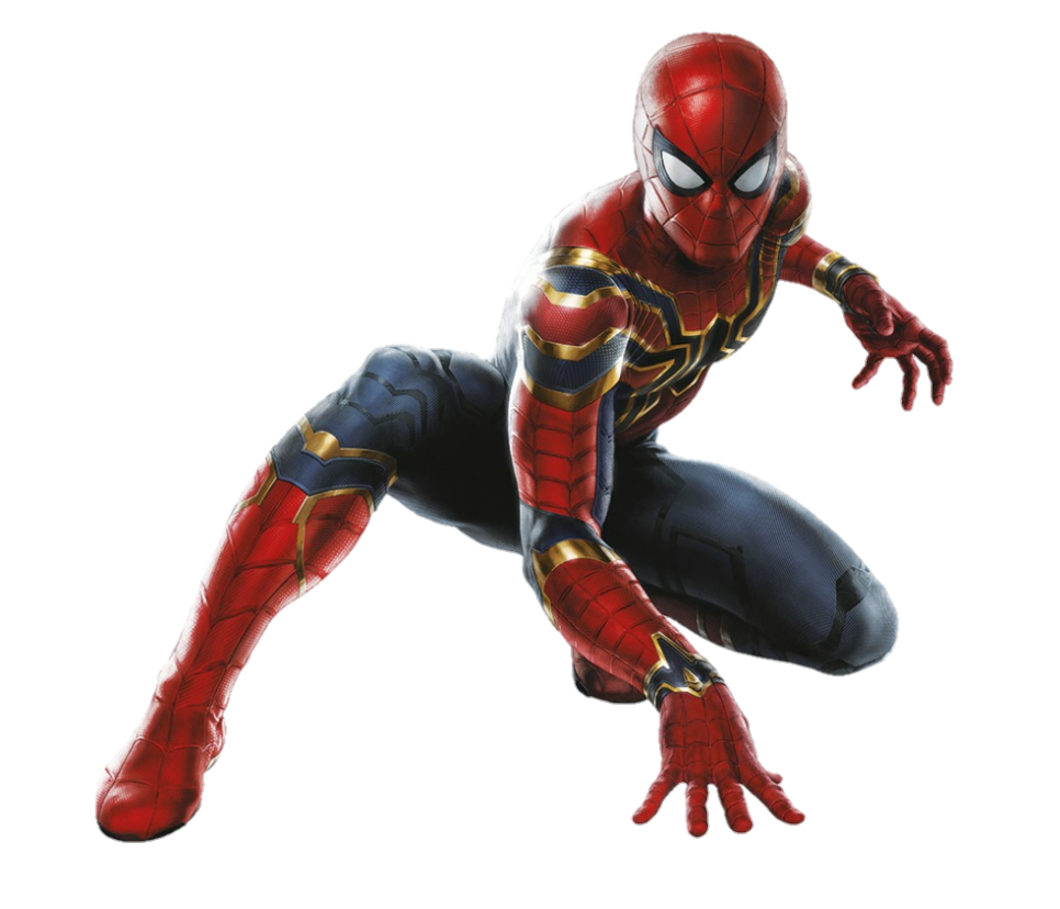Iron spider png. Avengers infinity war by