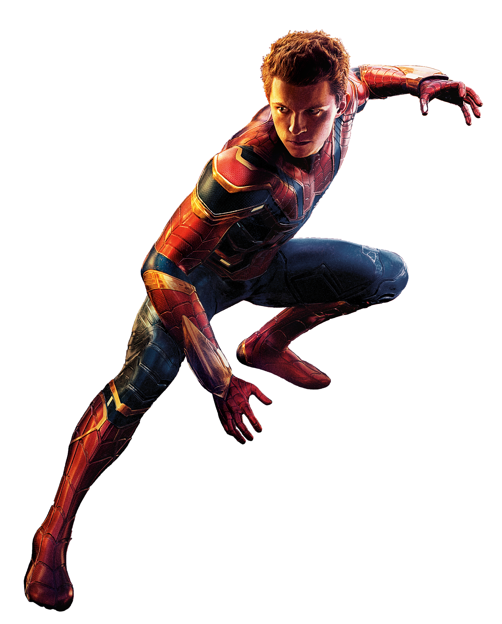 Iron spider png. Image peter ironspider aiw