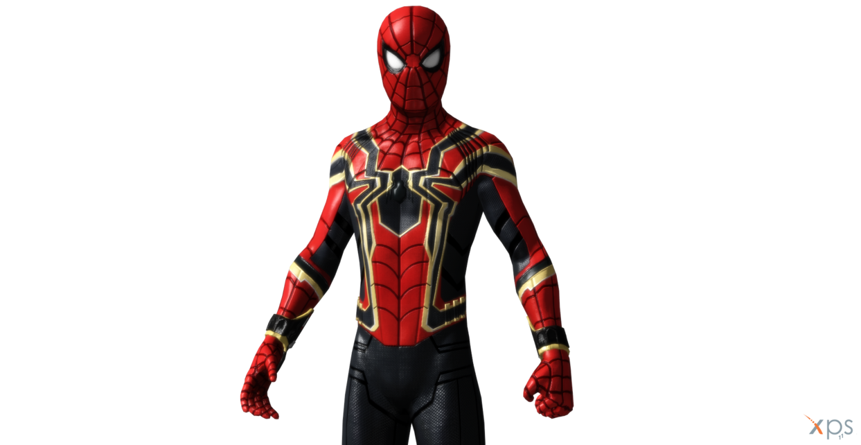 Iron spider png. Armor spiderman homecoming updated