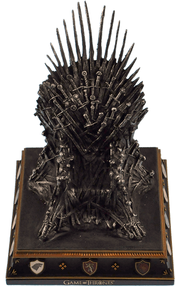Game of thrones throne png. Download hd noble collection