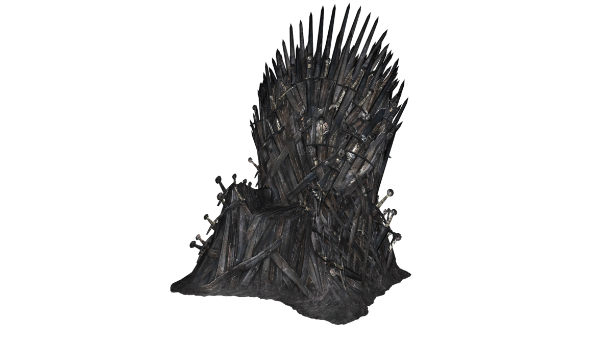 Iron throne png. Mmd dl by scarlettackerman
