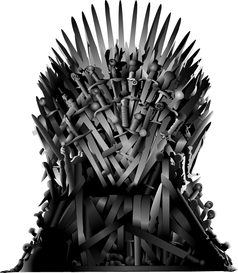 vector chair iron throne